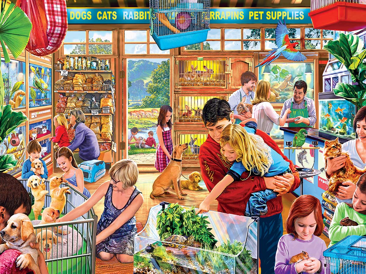 Lucy's First Pet Animals Jigsaw Puzzle