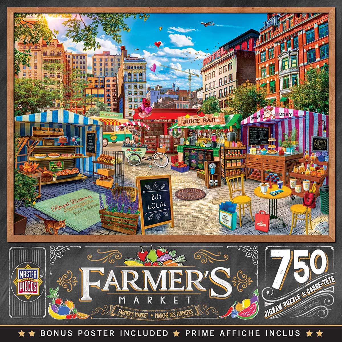 Buy Local Honey Food and Drink Jigsaw Puzzle