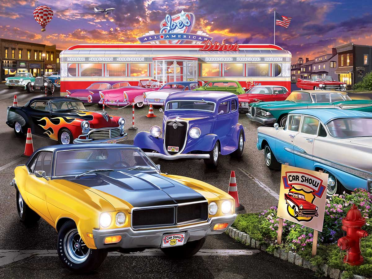 Runner's Up - Scratch and Dent Cars Jigsaw Puzzle