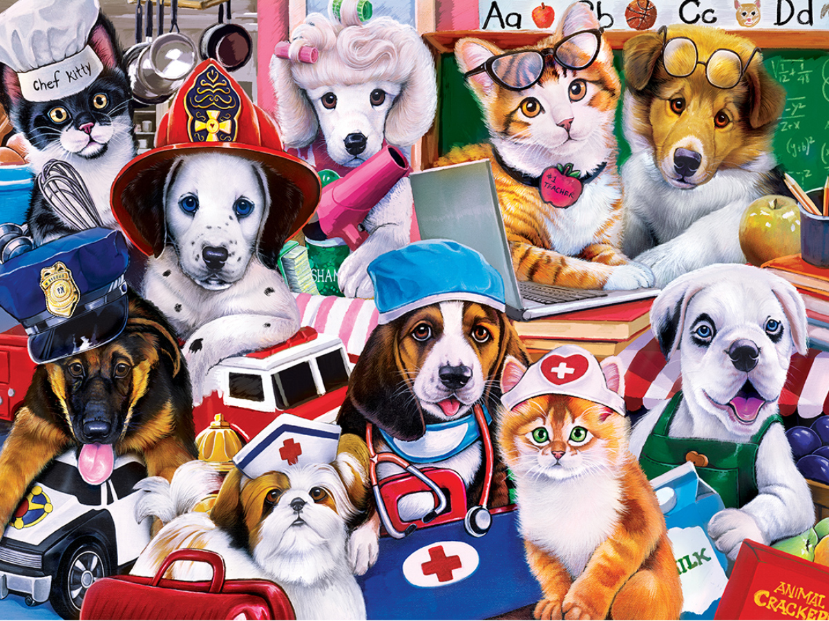 Essential Workers Animals Jigsaw Puzzle