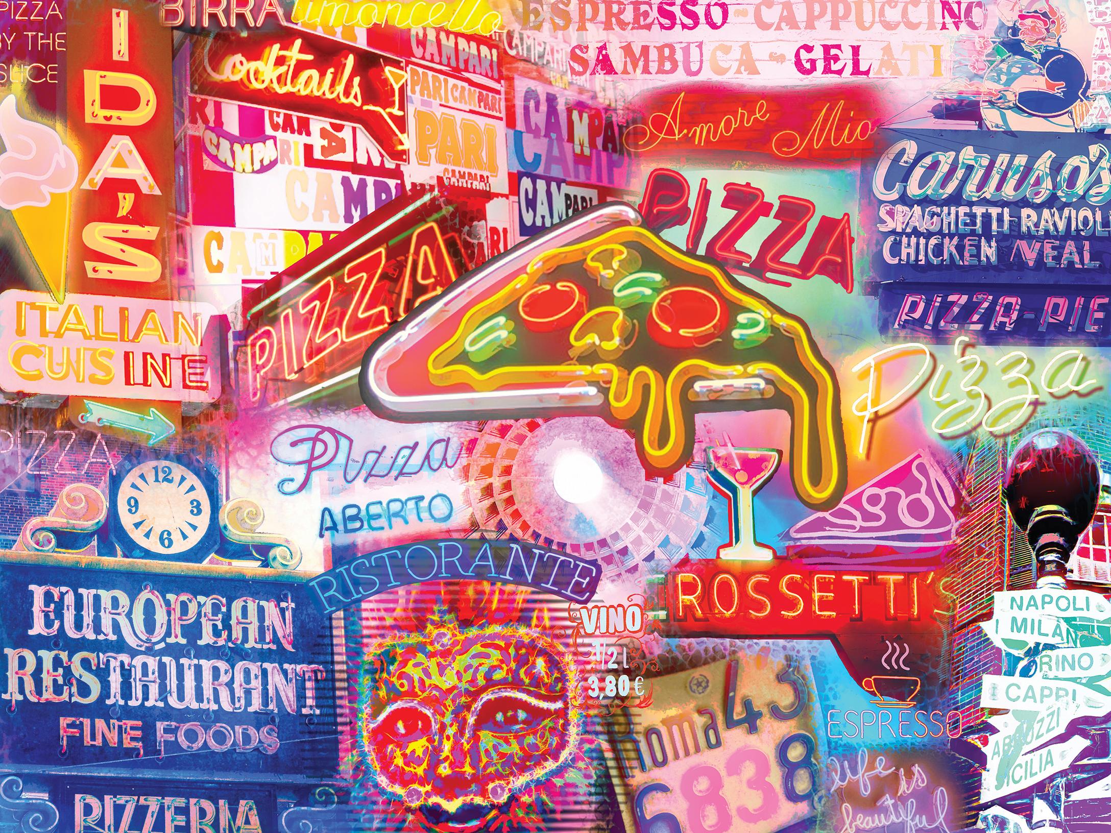 Viva Italia Food and Drink Jigsaw Puzzle