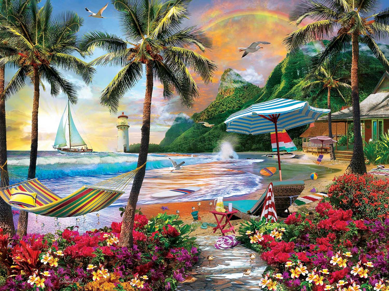 Hawaiian Life Hawaii Jigsaw Puzzle