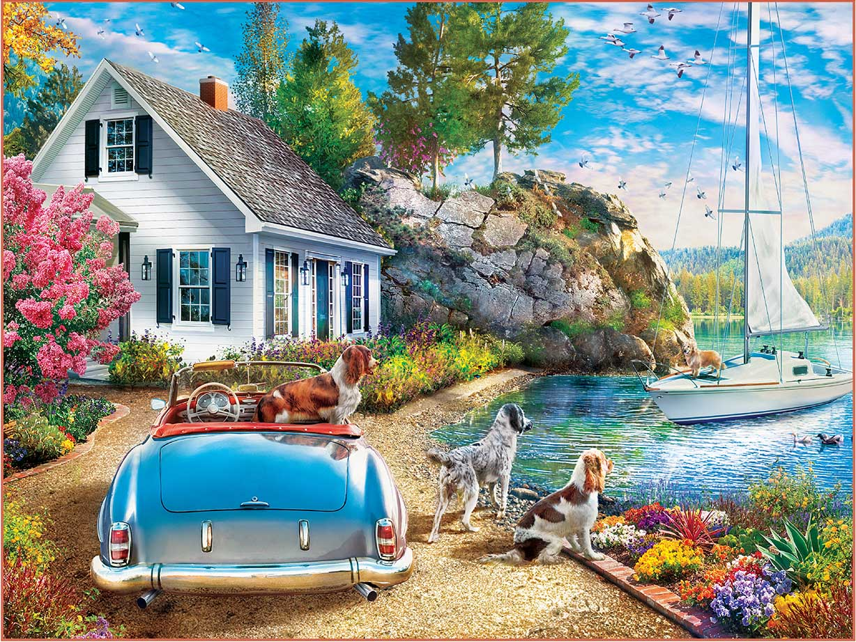 Afternoon Escape Countryside Jigsaw Puzzle