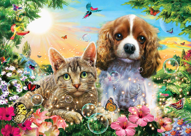 Best Friends Forever Cats Hidden Images