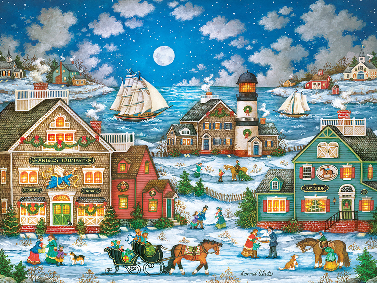 Guiding Light Lighthouses Jigsaw Puzzle