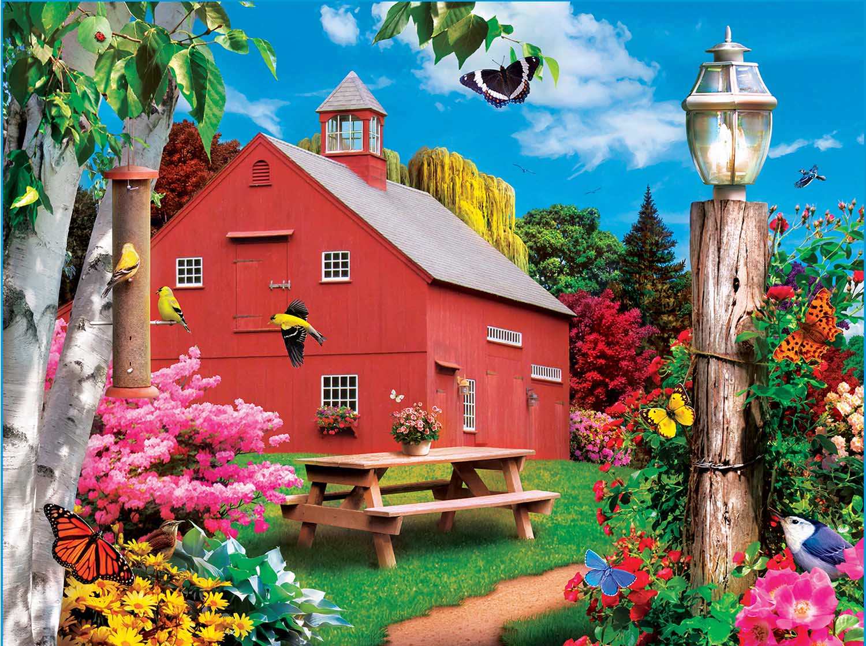 A Delightful Day Farm Jigsaw Puzzle