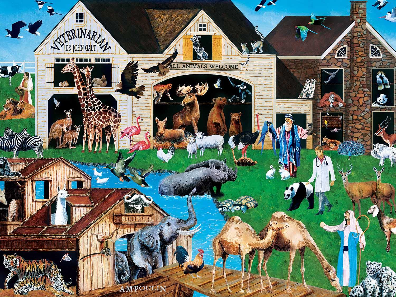 Noah & the Vet Animals Jigsaw Puzzle
