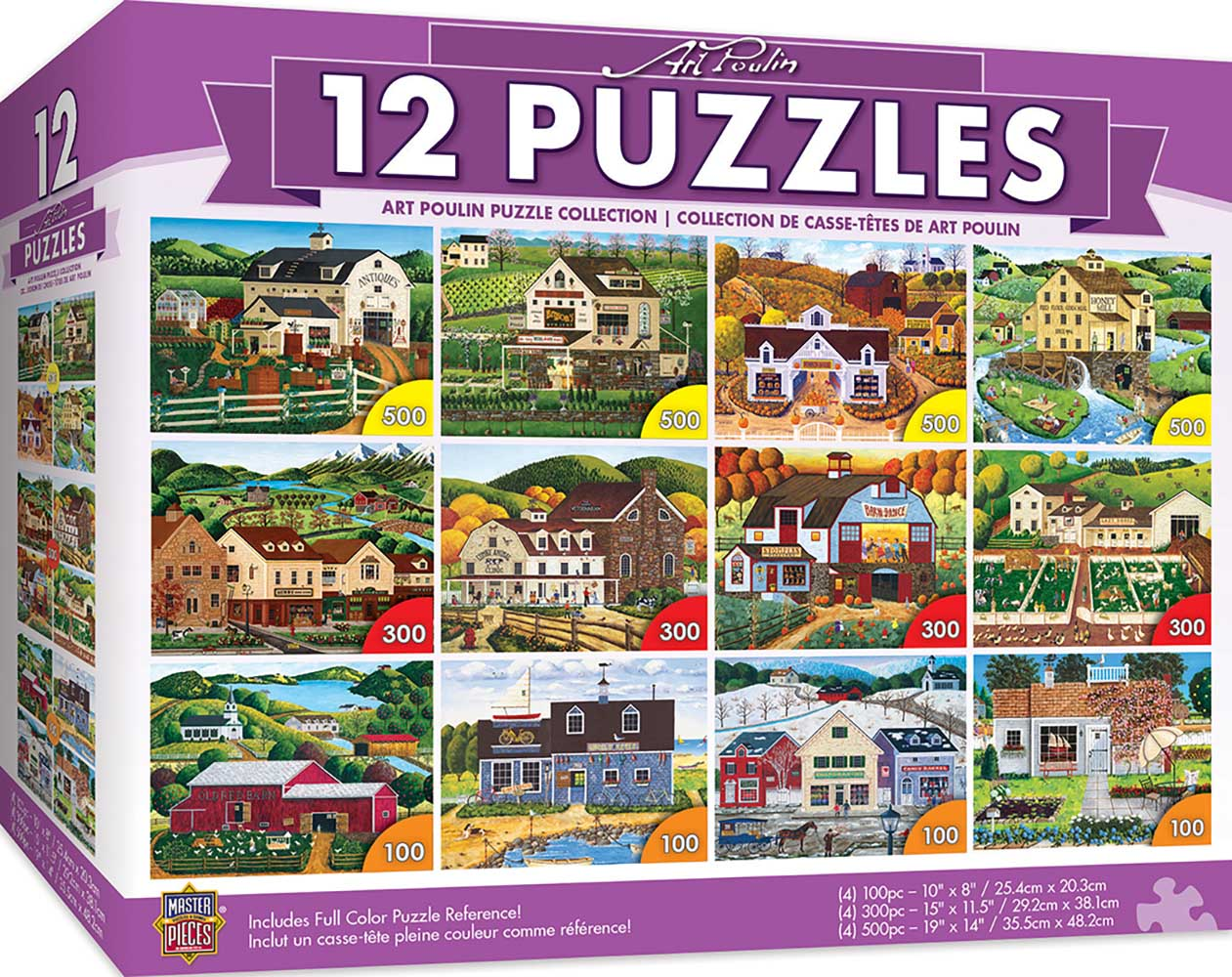 Art Poulin Bundle Landscape Jigsaw Puzzle