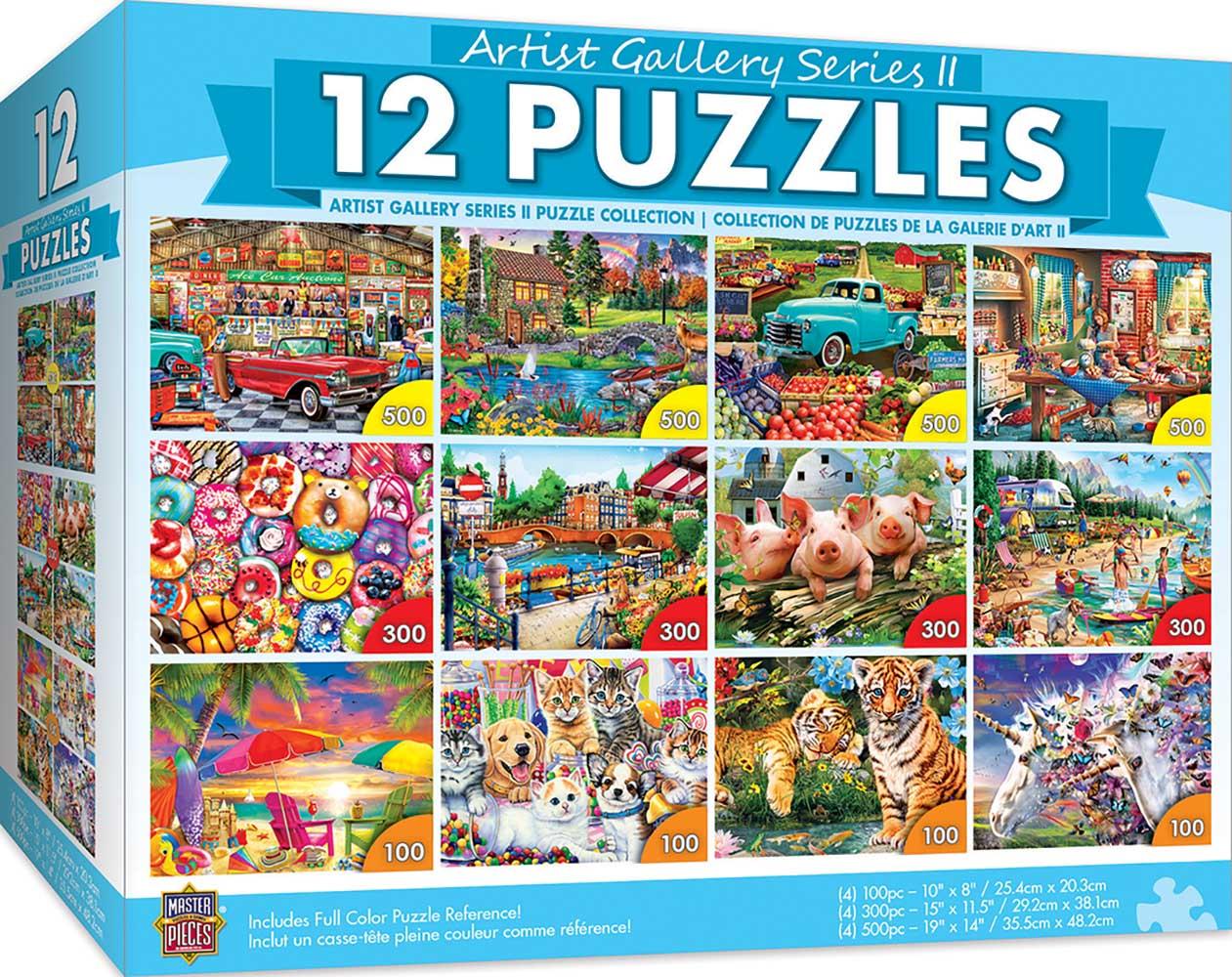 Artist Gallery II Bundle Collage Jigsaw Puzzle