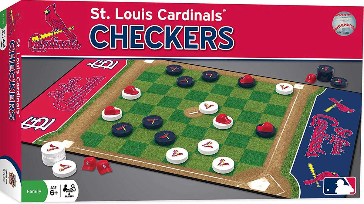 MLB Checkers - St. Louis Cardinals St. Louis