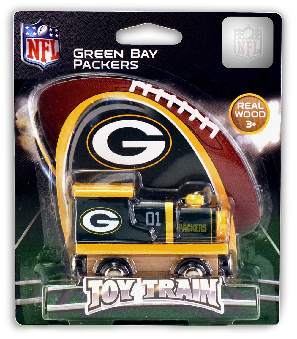 Toy Stores Green Bay : Green bay packers train puzzlewarehouse