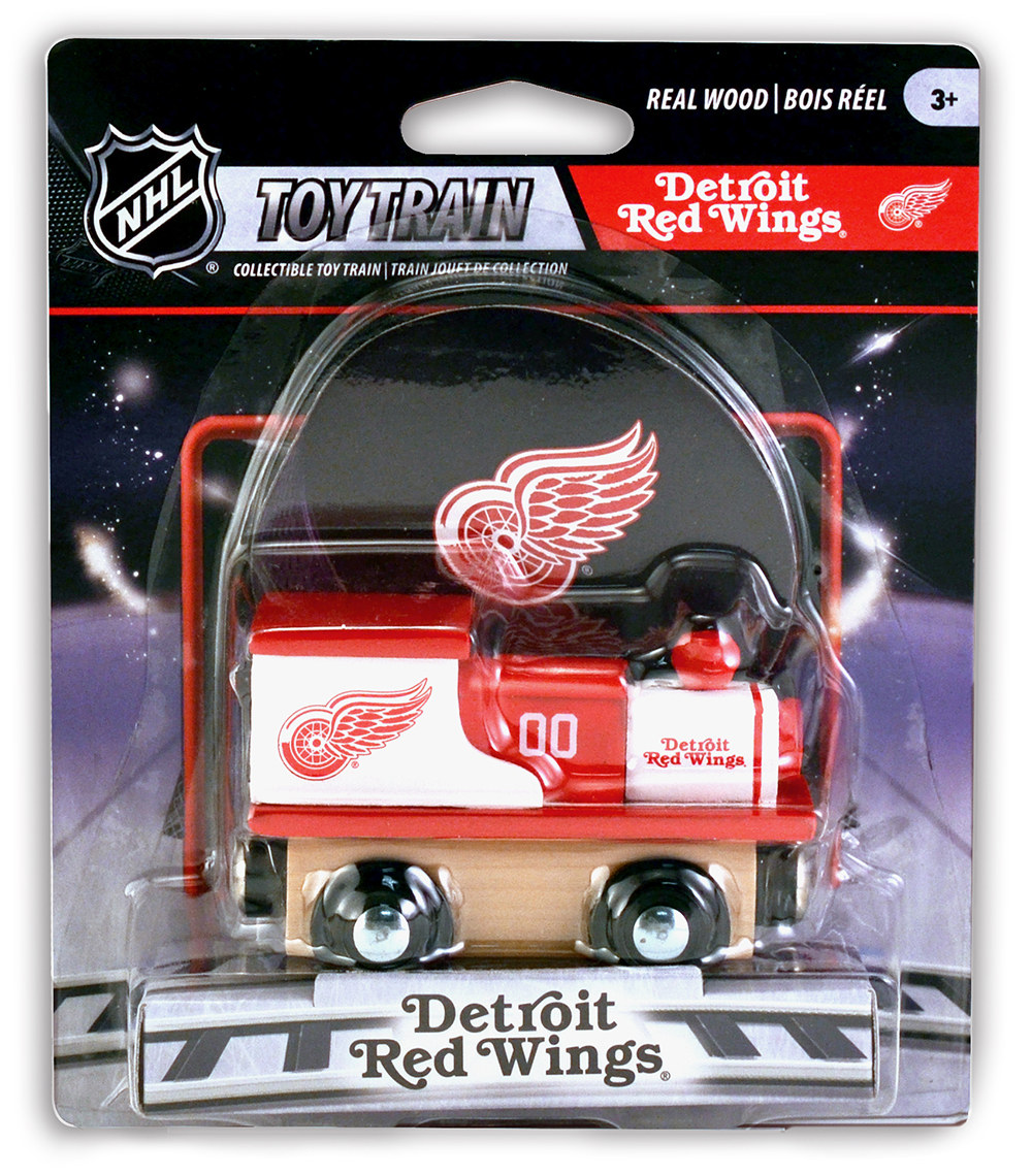 Detroit Red Wings Train - Scratch and Dent Sports
