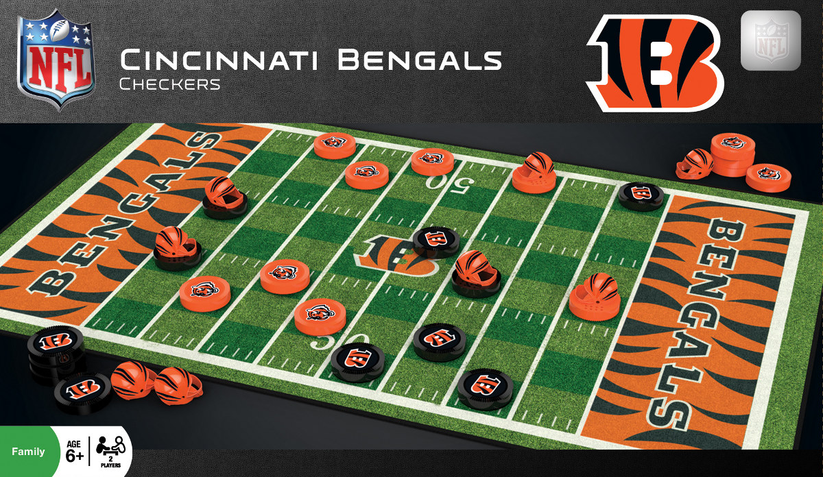 Cincinnati Bengals Checkers - Scratch and Dent