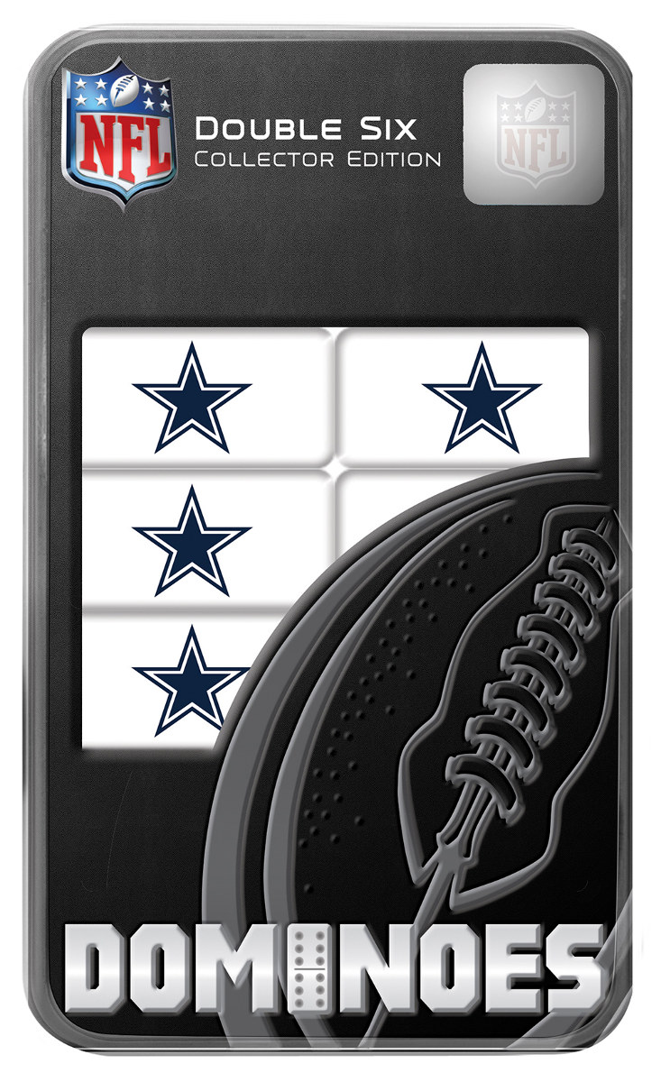 Dallas Cowboys Dominoes - Scratch and Dent Father's Day