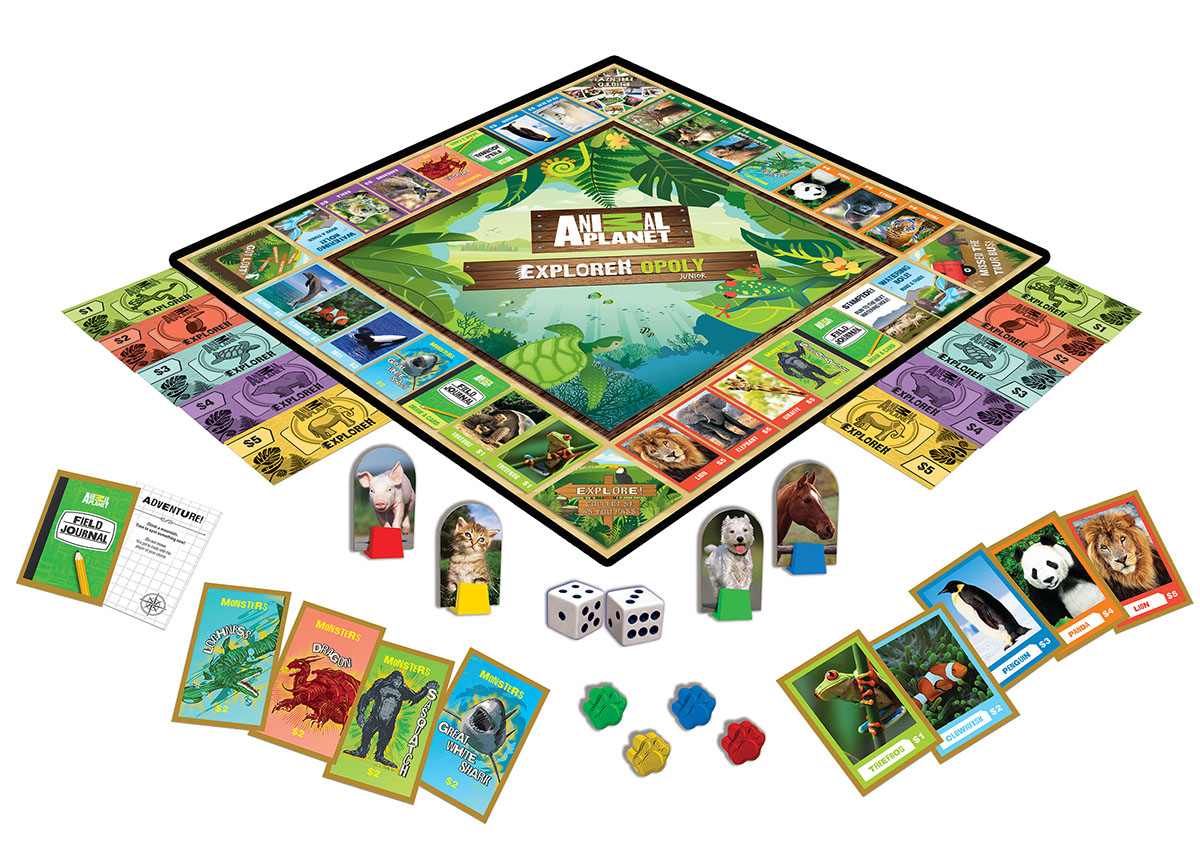 Animal Planet - Opoly Jr Game