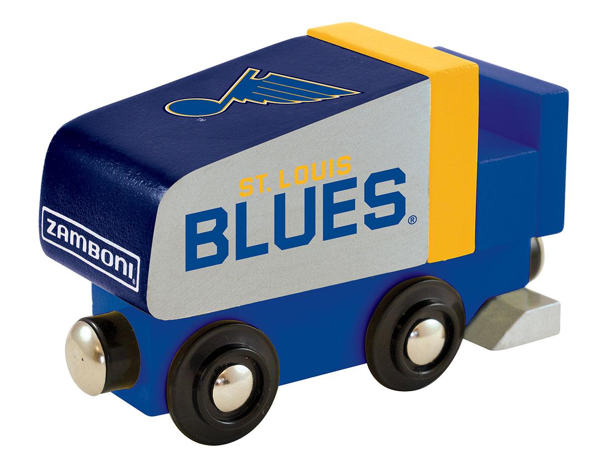 St. Louis Blues Wood Train Zamboni Sports