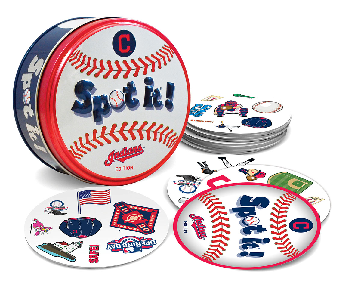 Cleveland Indians Spot It! Father's Day