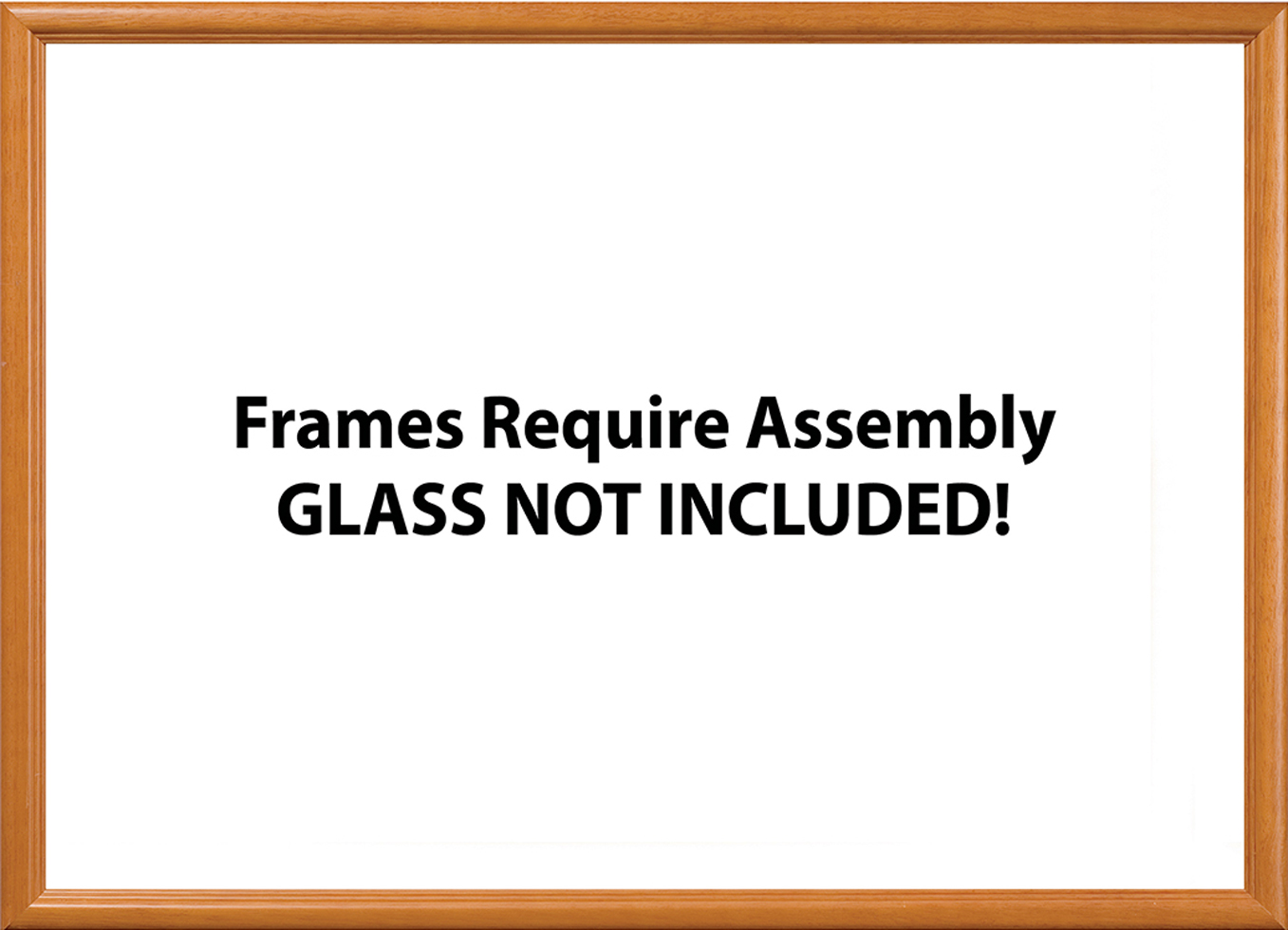 19.25 x 26.75 Wood Frame  Natural