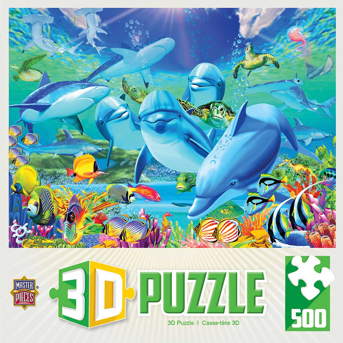 Lenticular Puzzle Under The Sea Jigsaw Puzzle