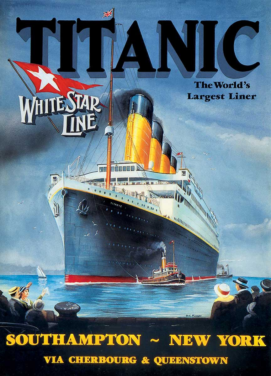White Star Line History Jigsaw Puzzle