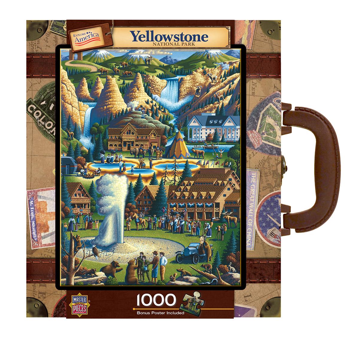 Yellowstone Mountains Jigsaw Puzzle