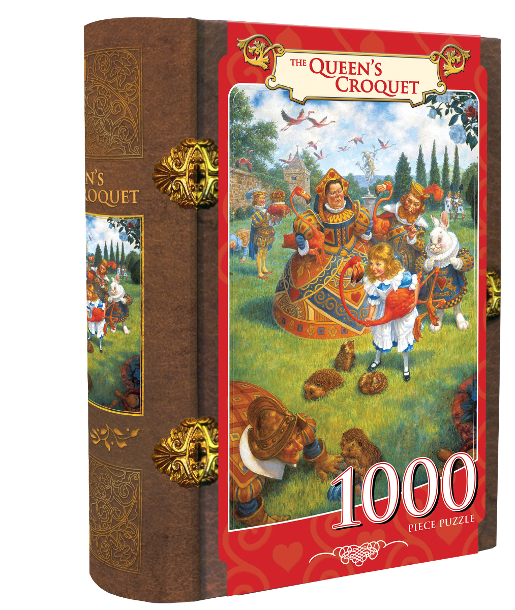 The Queen's Croquet Fantasy Collectible Packaging