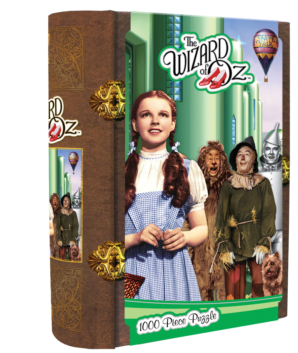 Wizard of Oz Emerald City Movies / Books / TV Jigsaw Puzzle