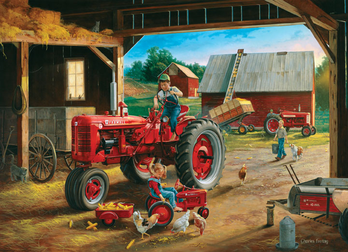 Farmall Friends Farm Jigsaw Puzzle
