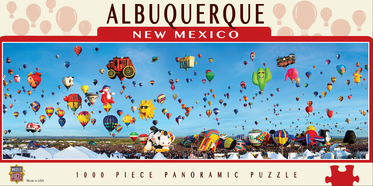 Albuquerque Balloons Skyline / Cityscape Jigsaw Puzzle