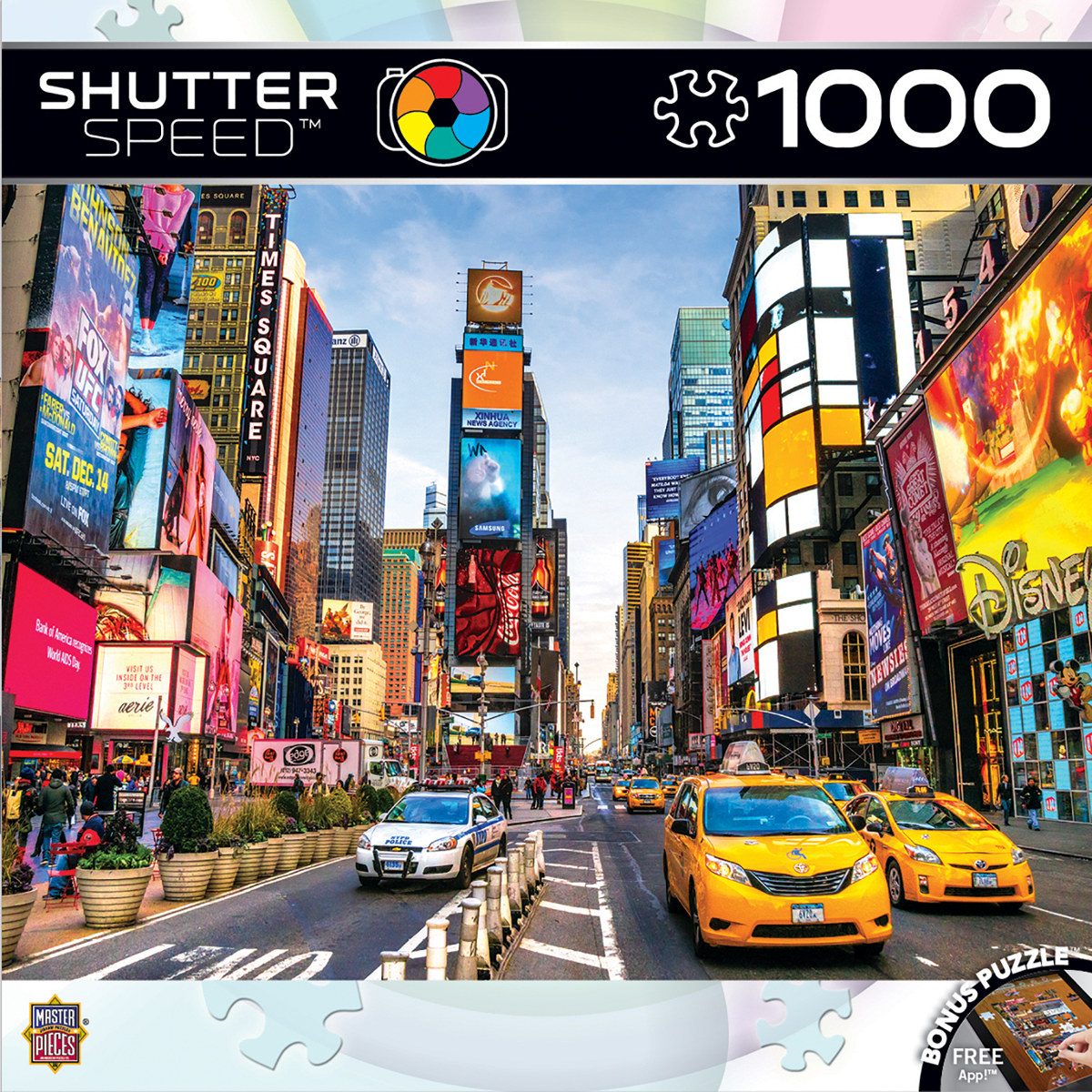 Times Square Skyline / Cityscape Jigsaw Puzzle