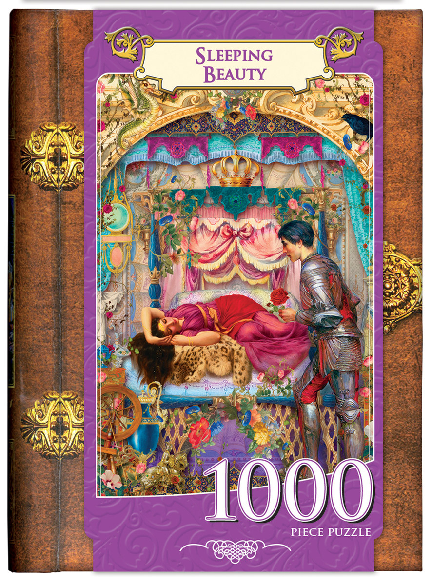 Uncategorized Sleeping Beauty Puzzle sleeping beauty collectible packaging puzzlewarehouse com fantasy packaging
