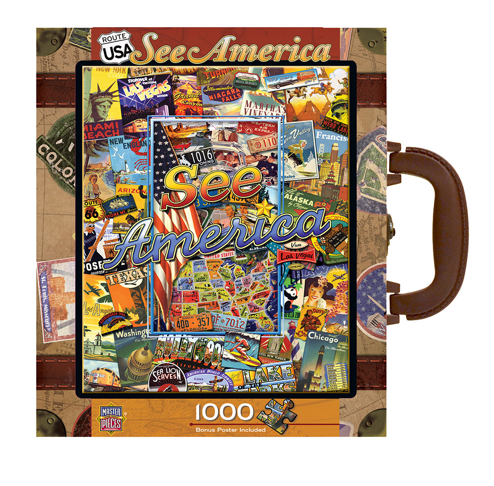 See America Travel Jigsaw Puzzle