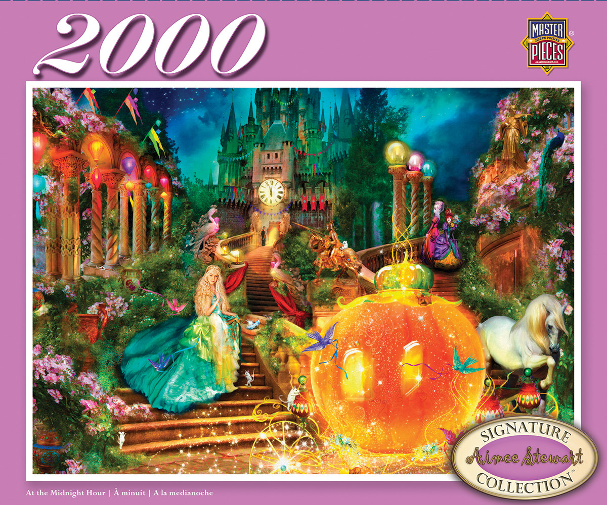 At the Midnight Hour - Scratch and Dent Princess Jigsaw Puzzle