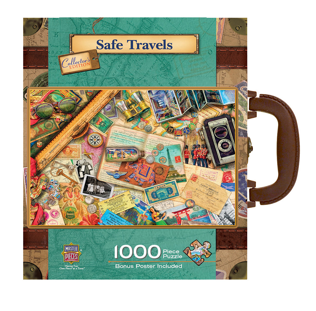 Safe Travels - Scratch and Dent Travel Jigsaw Puzzle