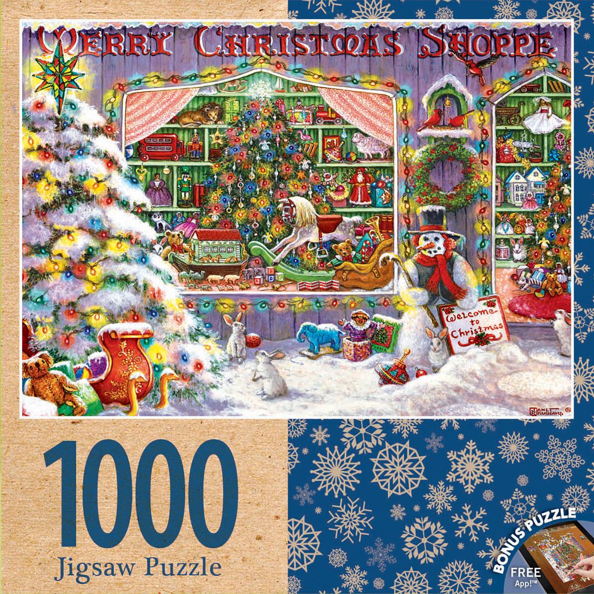 d70a49326115 Merry Christmas Shop Jigsaw Puzzle | PuzzleWarehouse.com