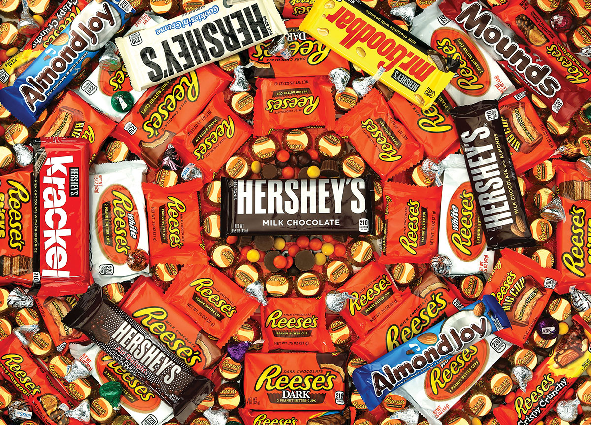 Hershey's Swirl Collage Jigsaw Puzzle