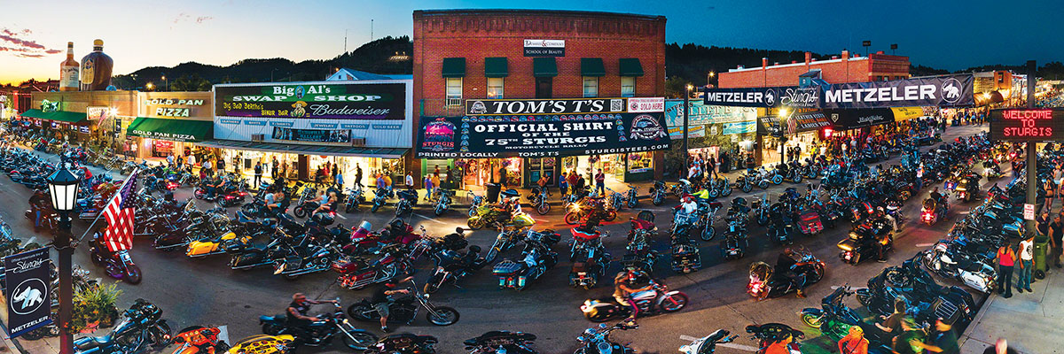 Sturgis, South Dakota Street Scene Jigsaw Puzzle
