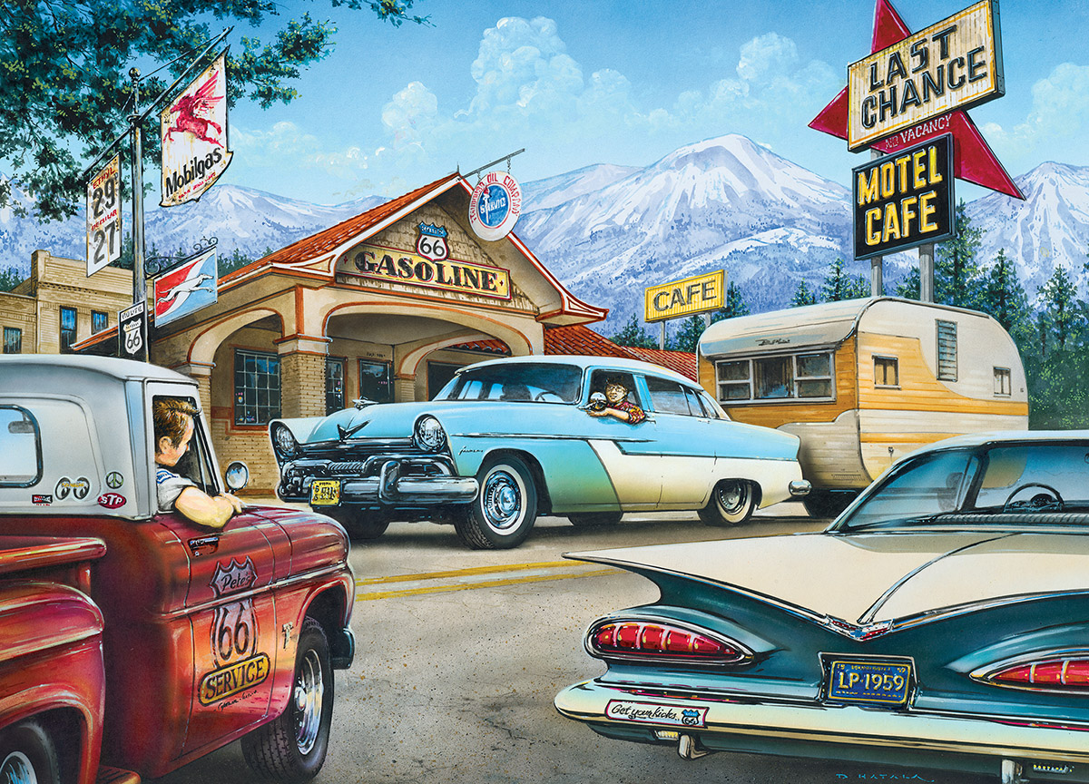 On the Road Again Cars Jigsaw Puzzle