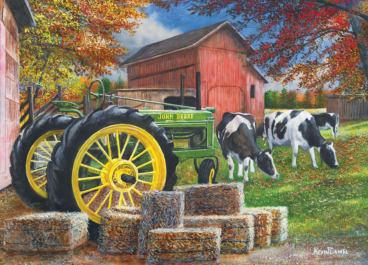 Girly John Deere Paintings : Old friends jigsaw puzzle puzzlewarehouse