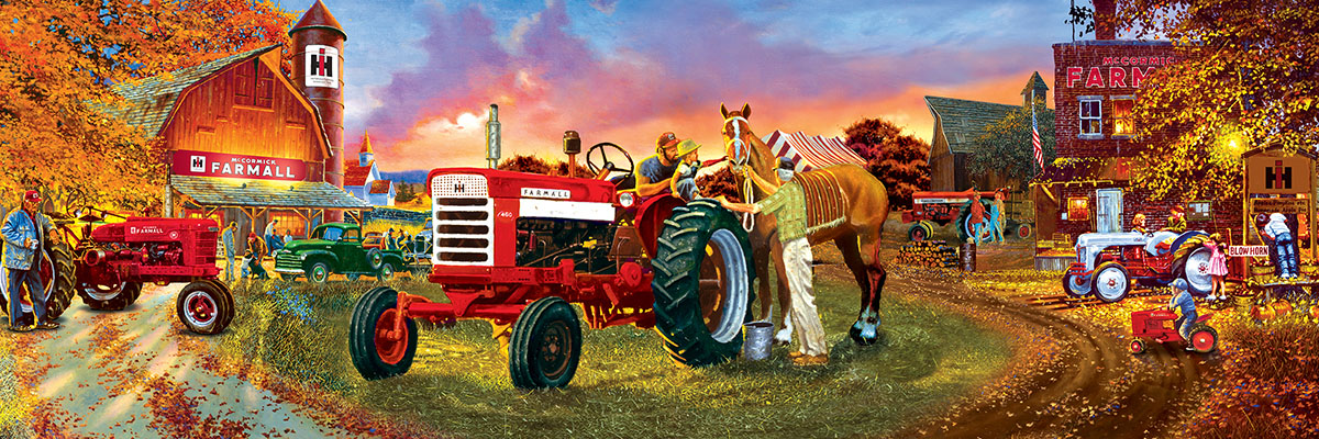 Farmall - Scratch and Dent Farm Jigsaw Puzzle