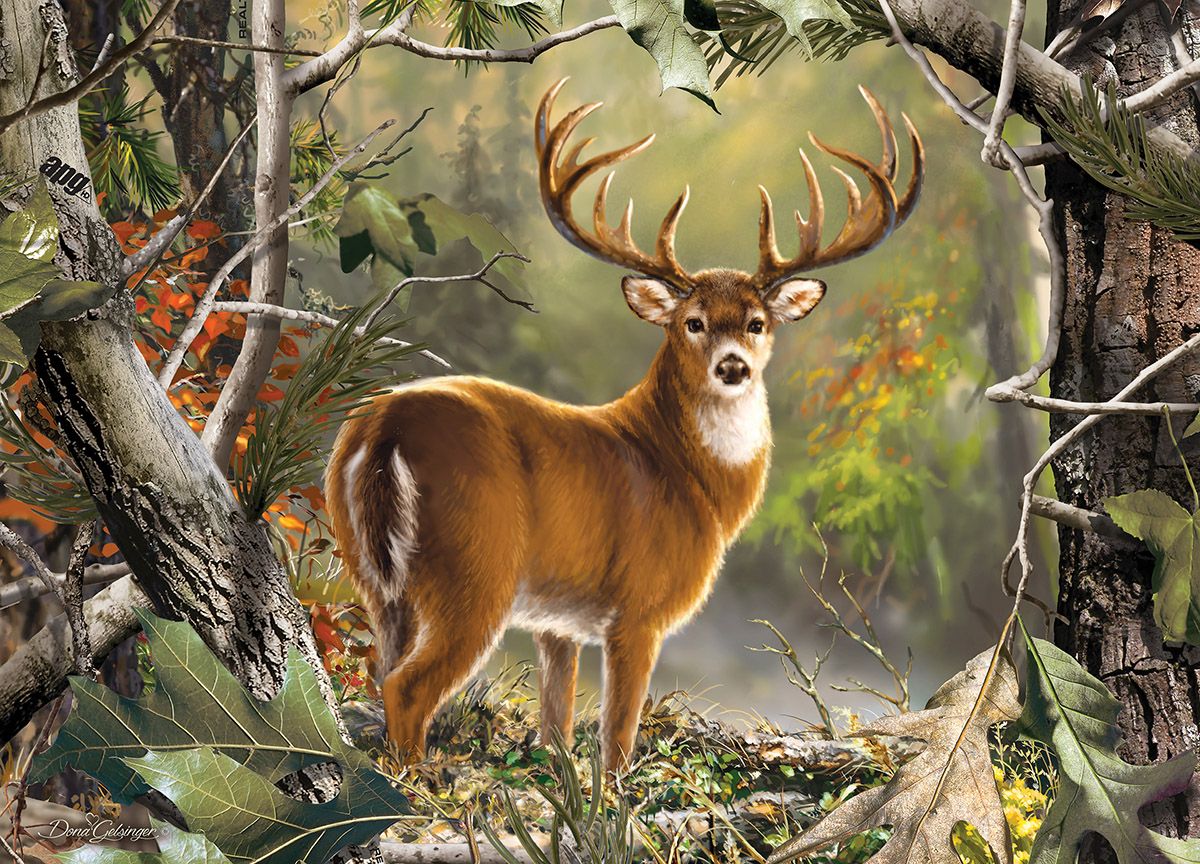 Backcountry Buck Wildlife Jigsaw Puzzle