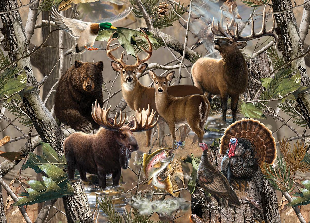 Open Season Wildlife Jigsaw Puzzle