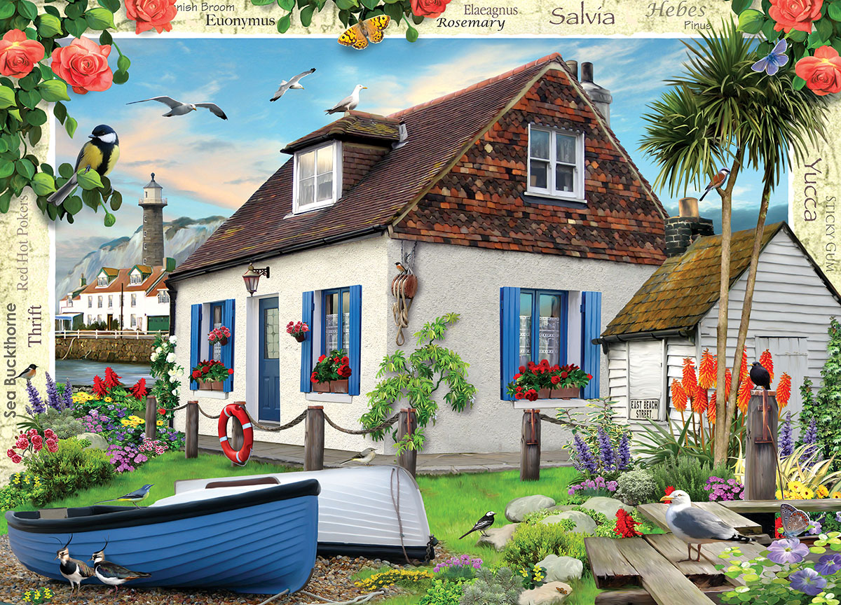 Fishermans cottage jigsaw puzzle - The fishermans cottage ...