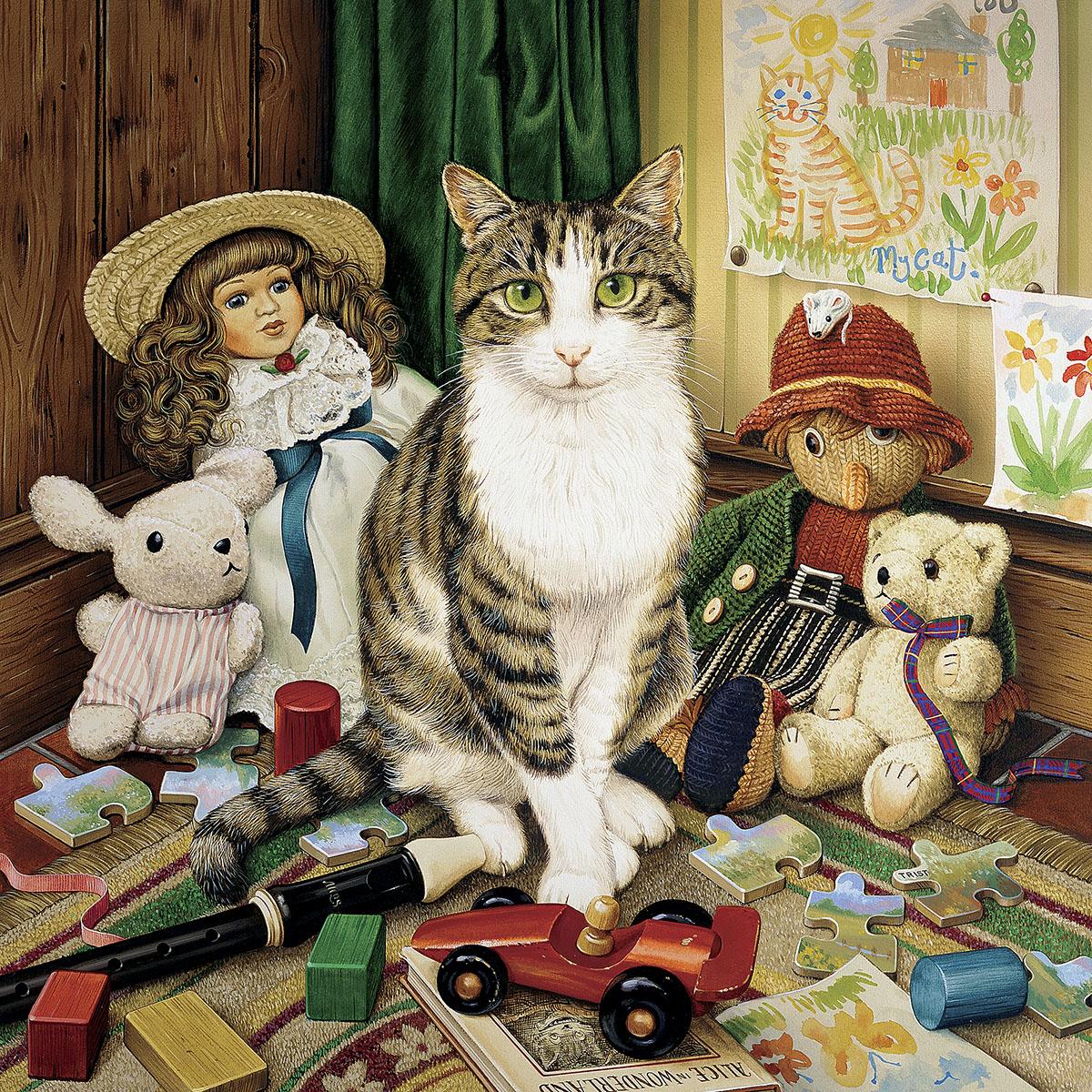 Pollyanna Cats Jigsaw Puzzle