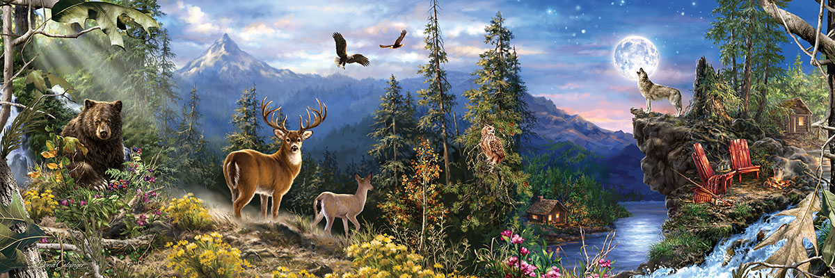 RealTree - Scratch and Dent Wildlife Jigsaw Puzzle