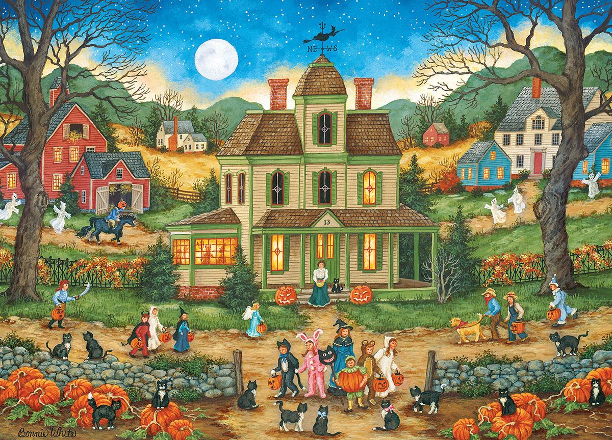 Halloween - Lucky Thirteen - Scratch and Dent Halloween Jigsaw Puzzle