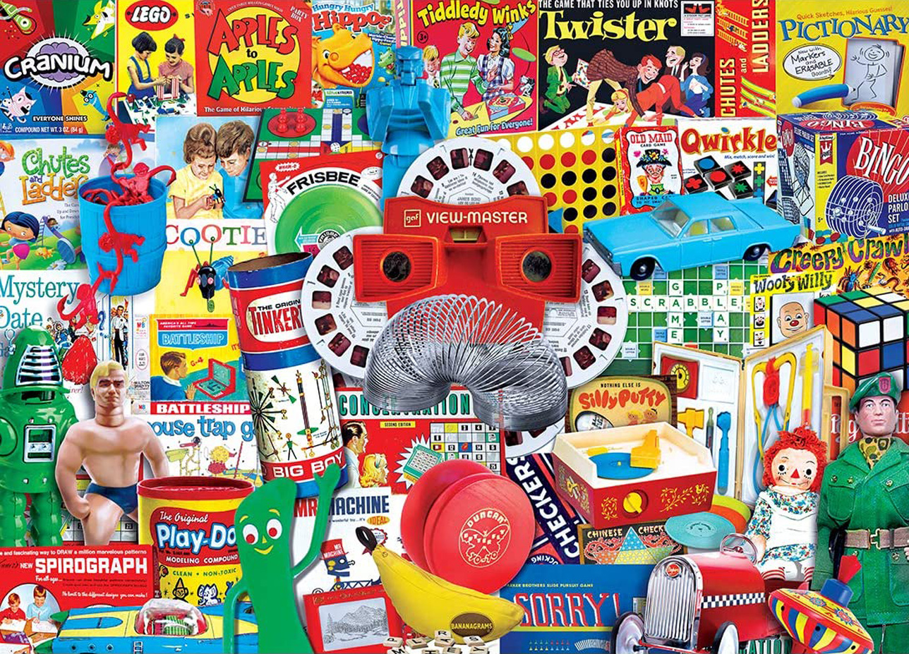 Let the Good Times Roll Nostalgic / Retro Jigsaw Puzzle