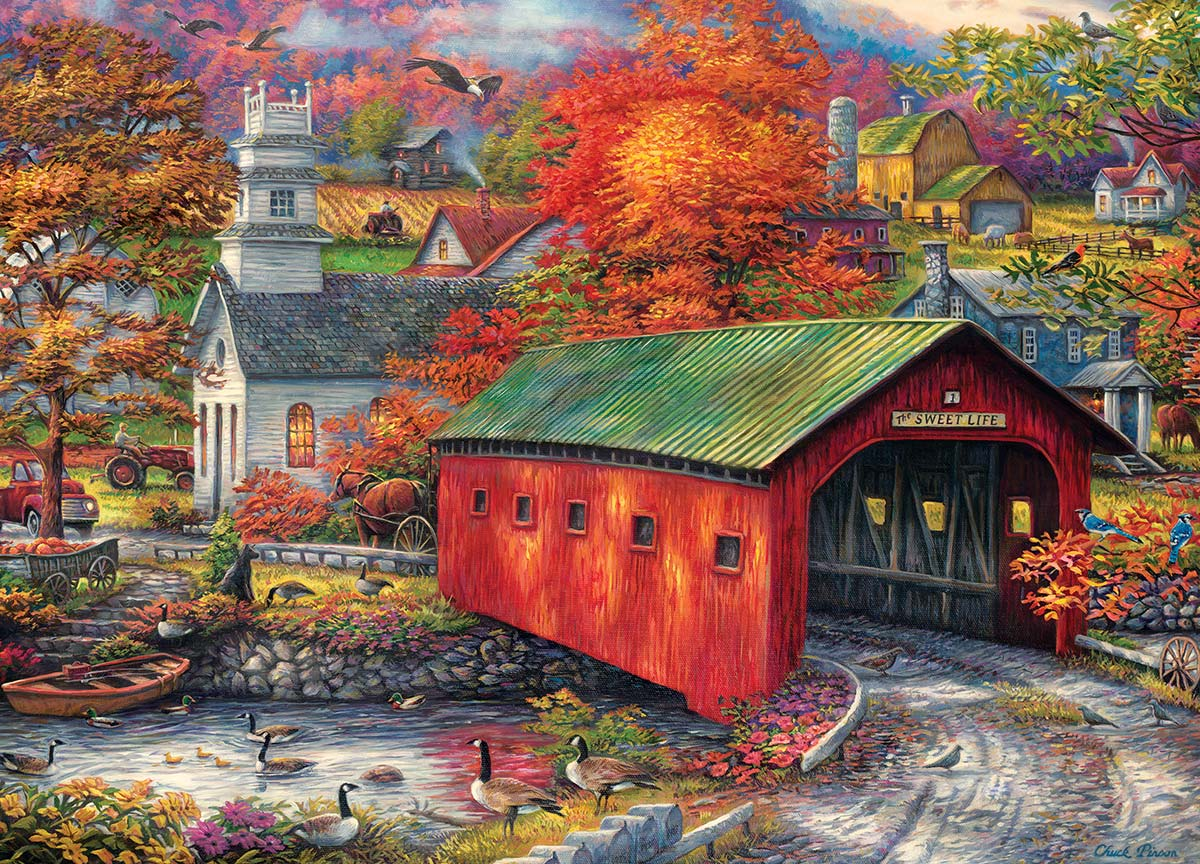 The Sweet Life Landscape Jigsaw Puzzle