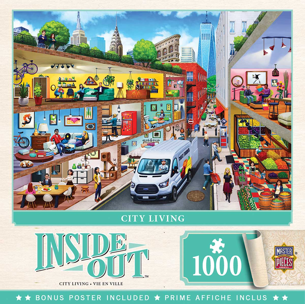 City Living Cities Jigsaw Puzzle