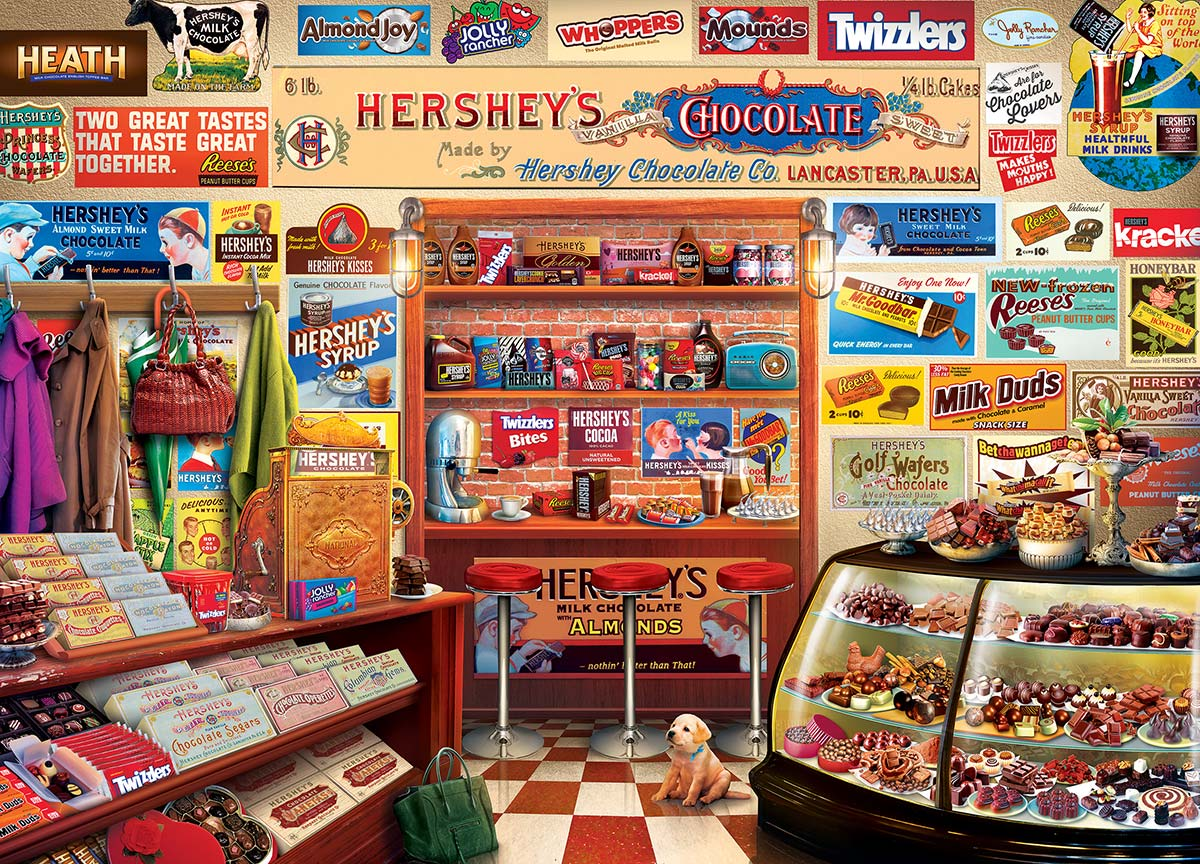 Hershey's Candy Shop Sweets Jigsaw Puzzle